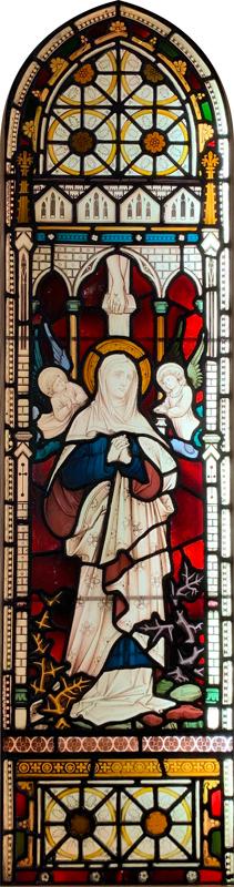 Edgware Abbey Glass Window